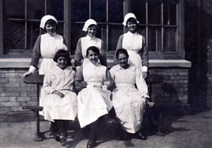 Nurses and patients 1938